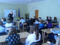 """Свято рідної мови """"Спілкуймося українською"""" (ЗОШ №55 учні 8х класів)"""