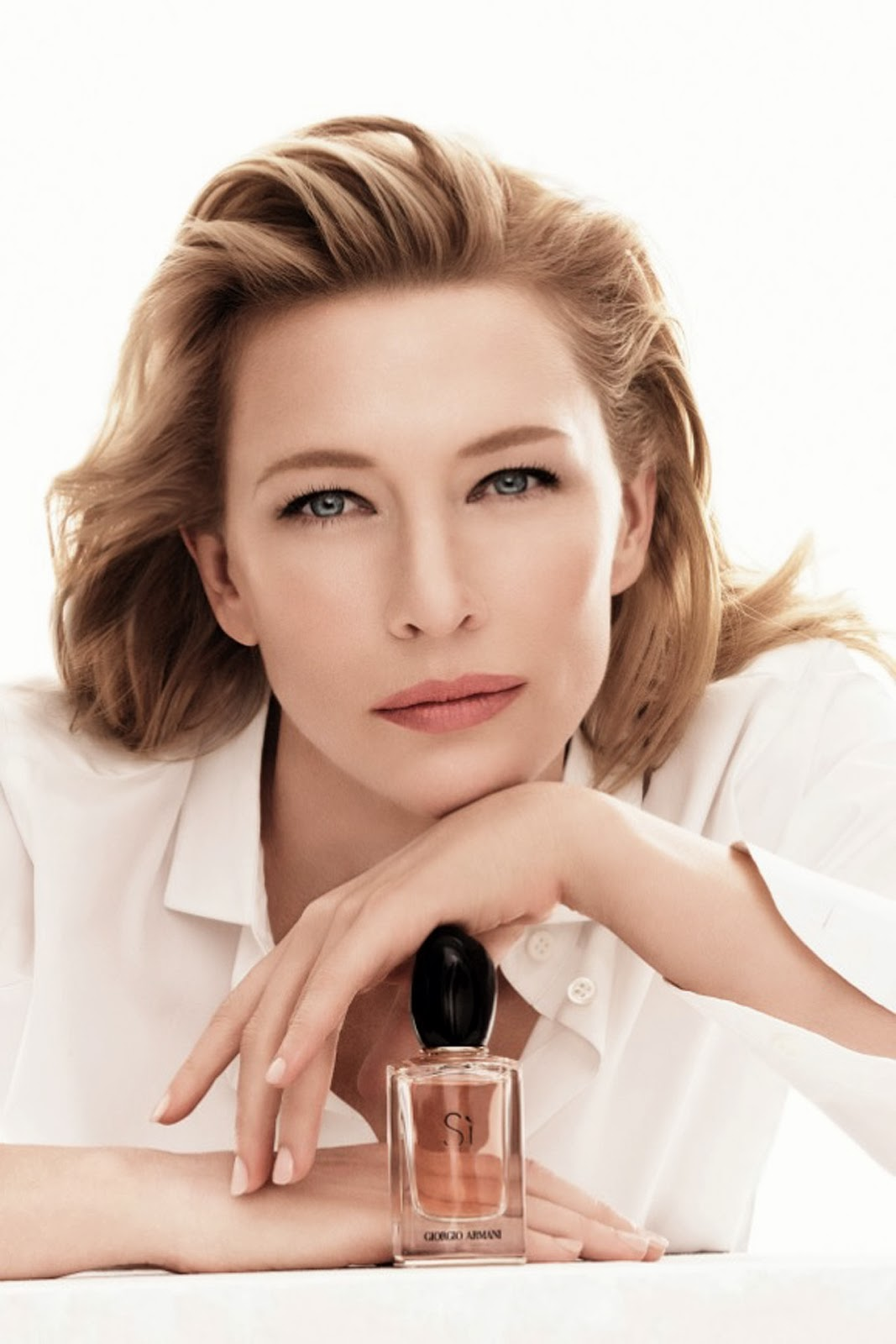 The Face of Beauty - Celebrity Fragrance: Cate Blanchett for Si ...