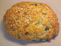 Cheddar-onion Irish soda bread
