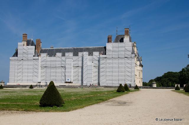 Château d'Ecouen - musée national de la Renaissance - restauration