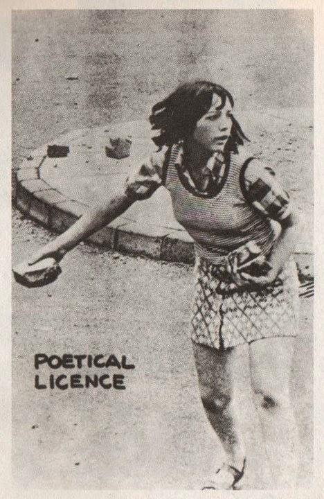 poética licencia