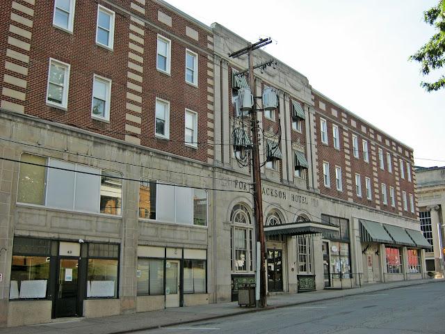 Fort Jackson Hotel Cool Vintage Building