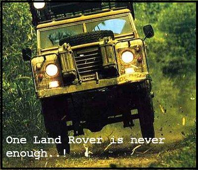 One Land Rover is never enough..!