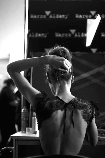 Backless and updos