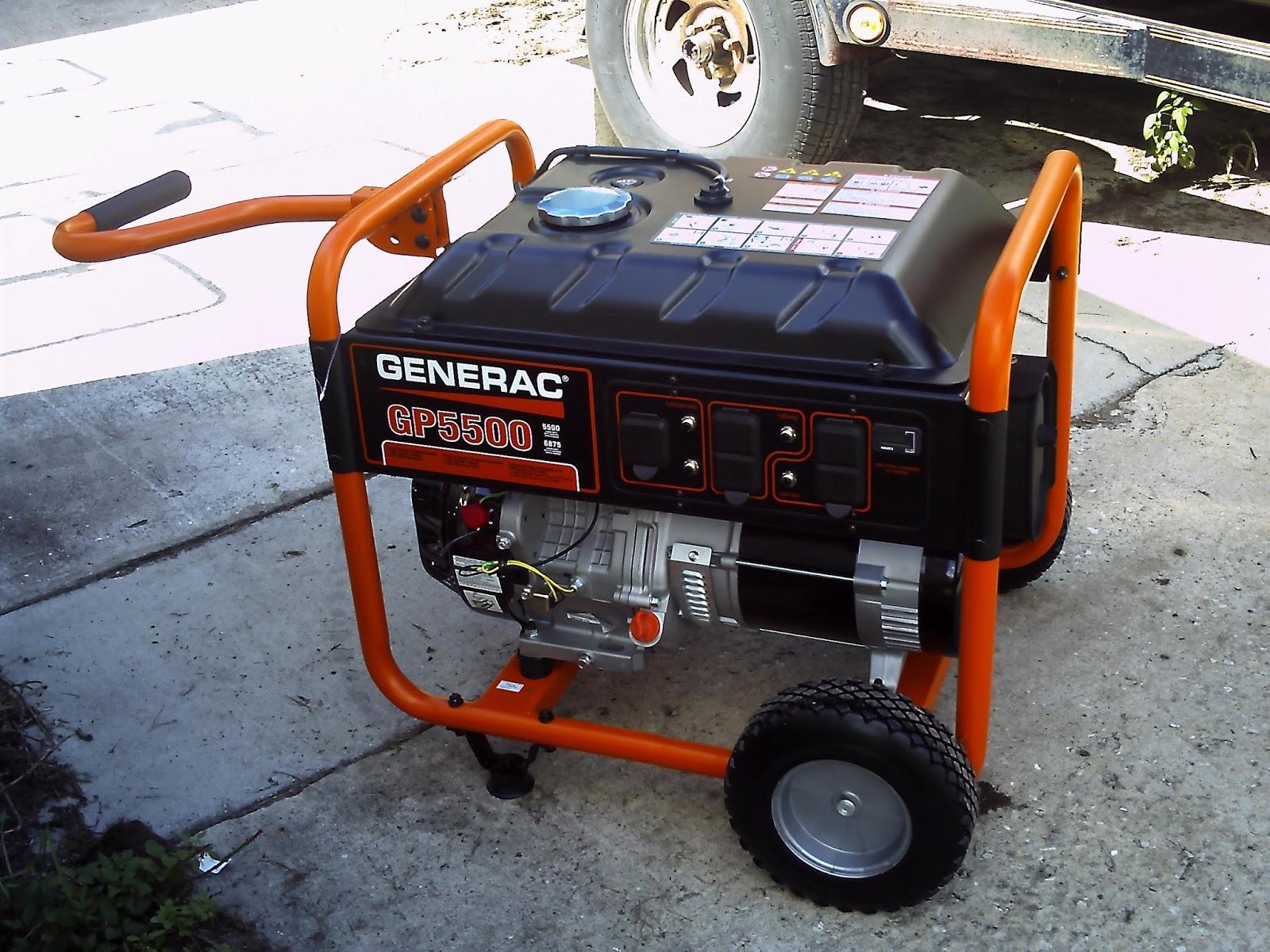 Terry s Small Engine Repair Generac GP5500 Portable Generator