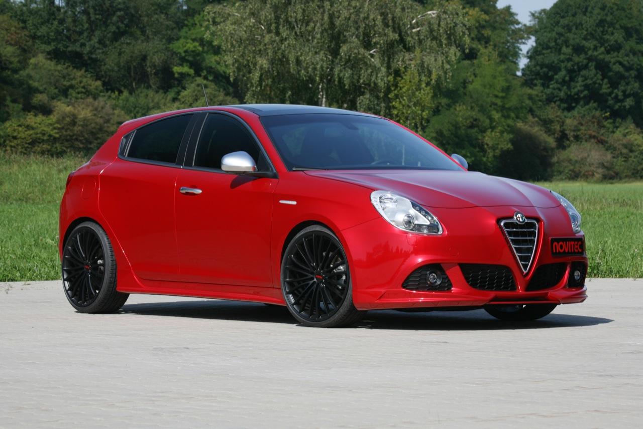 Alfa Romeo Giulietta con kit de Novitec