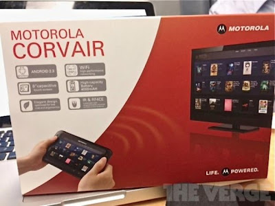 Motorola Corvair Tablet specs leaked, shows Remote Control Feature