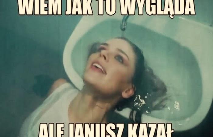 """Obraz: mem na temat """"rolującej blanta na backstage'u"""" Urbańskiej"""