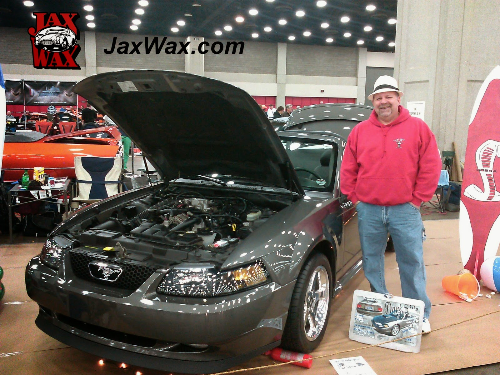 2003 Ford Mustang GT Convertible Carl Casper Auto Show Jax Wax Customer