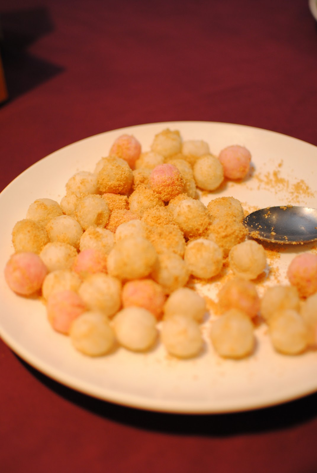 how to cook frozen glutinous rice balls