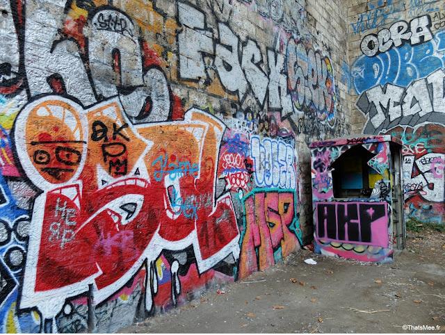 street art gare de saint-ouen à Paris