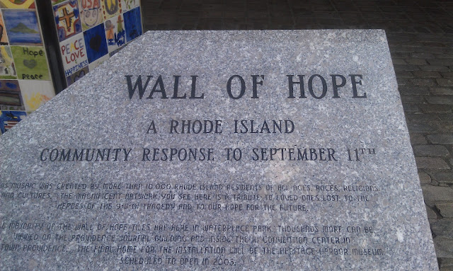 9/11 Wall of Hope RI