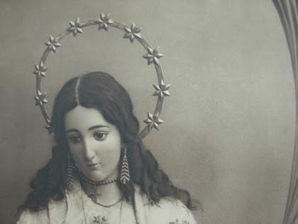 Imagen titular de santa Eulalia en los años 20 del siglo XIX, Boccóni