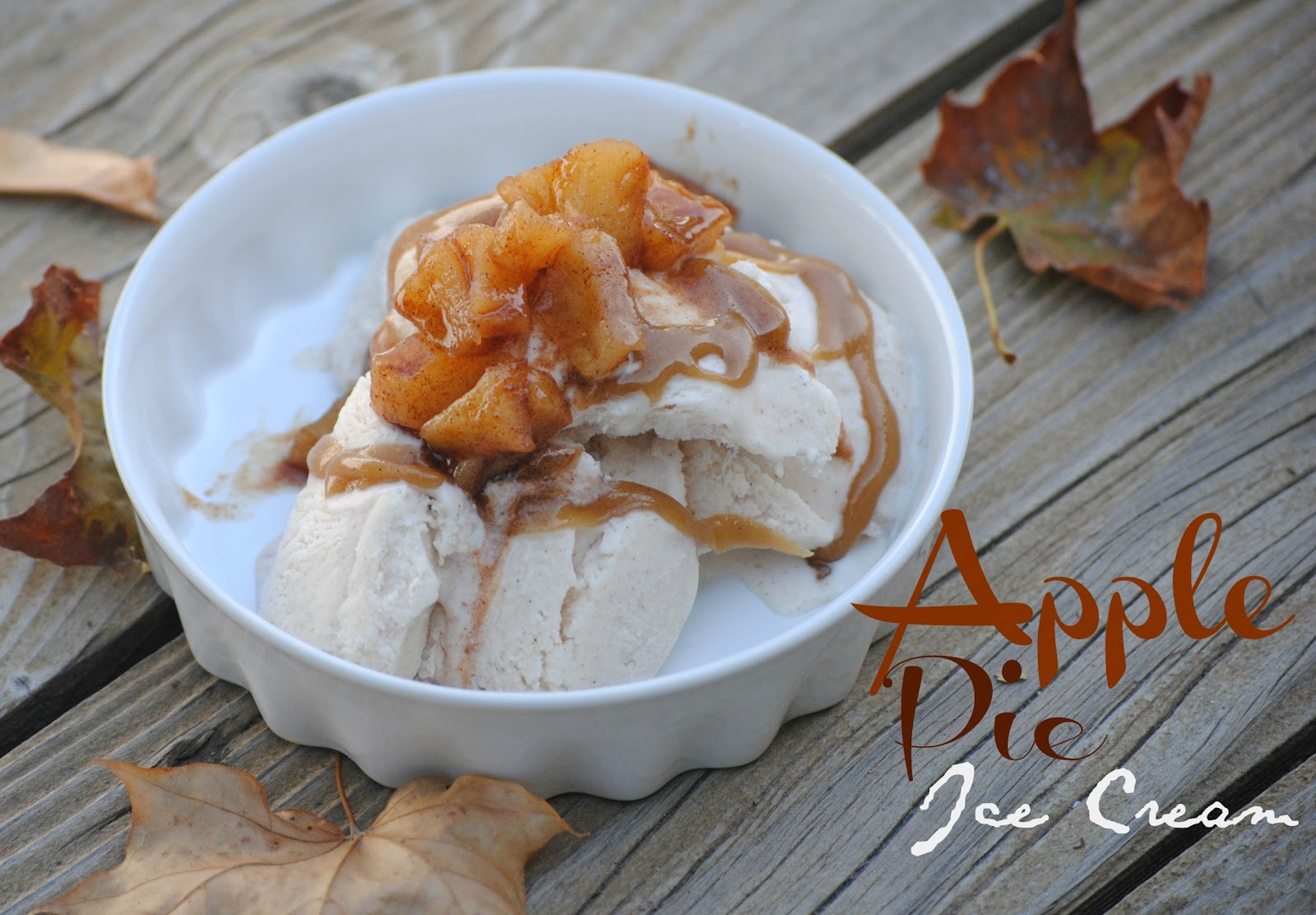 The Farm Girl Recipes: Apple Pie Ice Cream