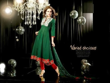 Indian Anarkali Frocks Designs