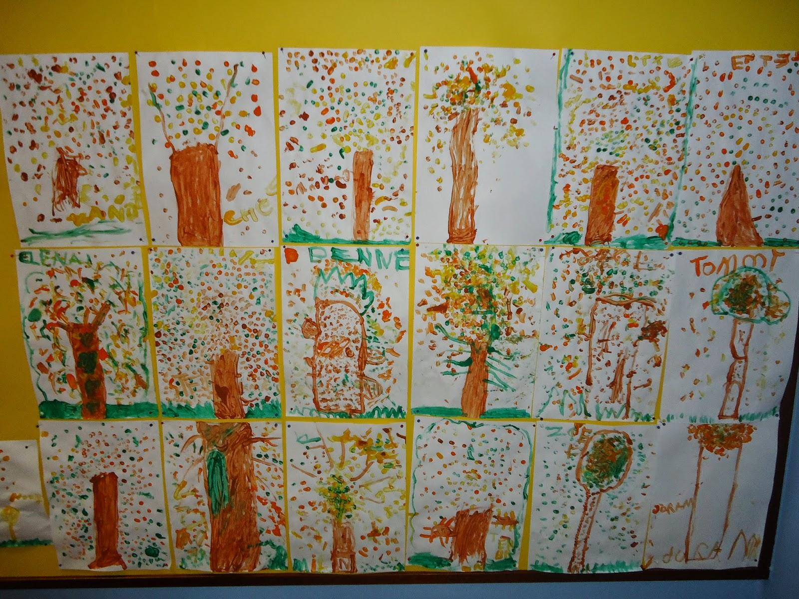 Muzofolio knutselen in de herfst - Kamer schilderij ideeen ...