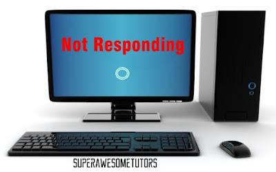 not responding di komputer atau laptop