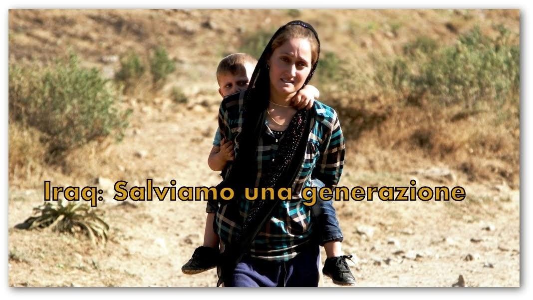 AIUTO ALLA CHIESA CHE SOFFRE: SALVIAMO UNA GENERAZIONE