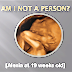 Human - but not a person