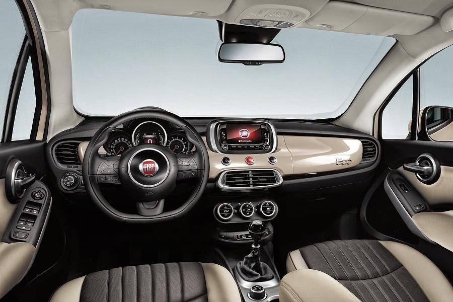 Fiat 500X (2015) Dashboard
