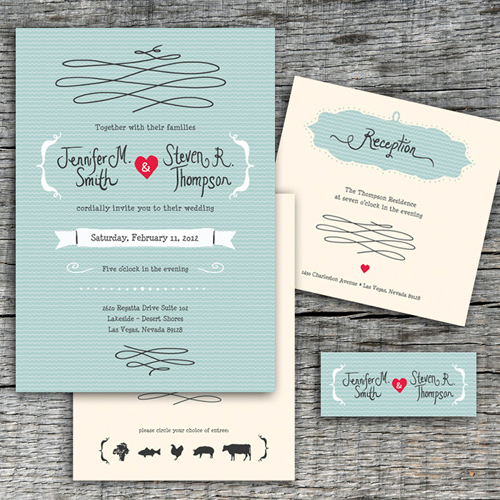 Unique Wedding Invitation Template, DIY Wedding Invitations, Wedding Invitation Samples, DIY Vintage Wedding Invitation Collection, Wedding Invitation Template, Affordable Wedding Invitation Templates, DIY Printable Wedding Invitation, Response Card and Reception Card, Vintage Blue Wedding Invitation Collection, Fun DIY Printable Design Vintage Wedding Collection