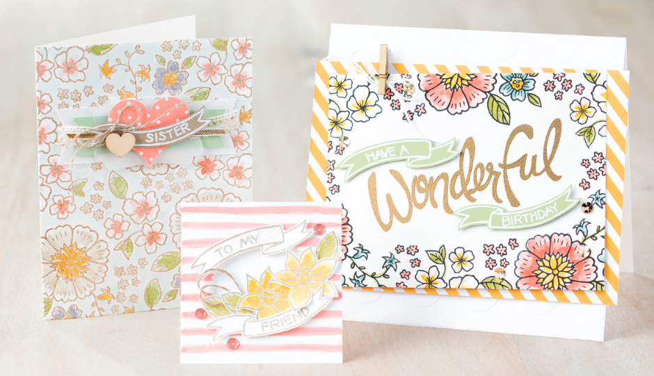 Stampin' Up! You're Wonderful Card Ideas