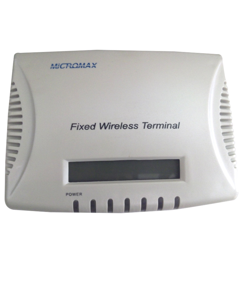 Micromax GSM Fixed Wireless Terminal