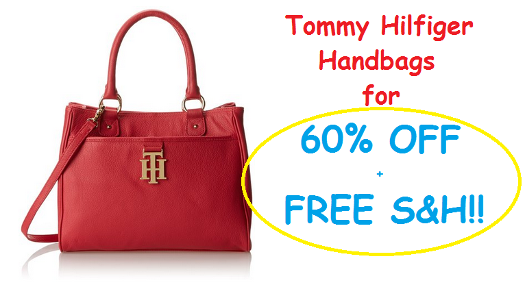 Get 60% Off Tommy Hilfiger Handbags + FREE S&H! - TODAY ONLY!!
