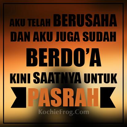 Image Result For Gambar Kata Pasrah