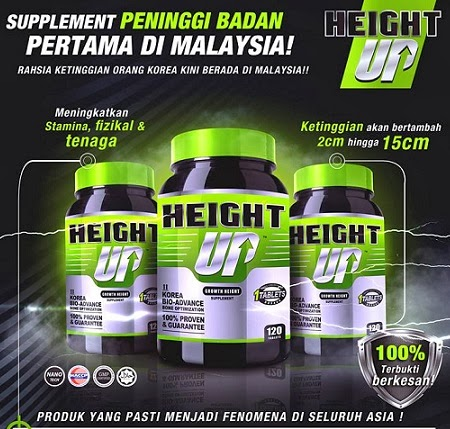 Height Up Supplement Tinggi Harga Murah RM160