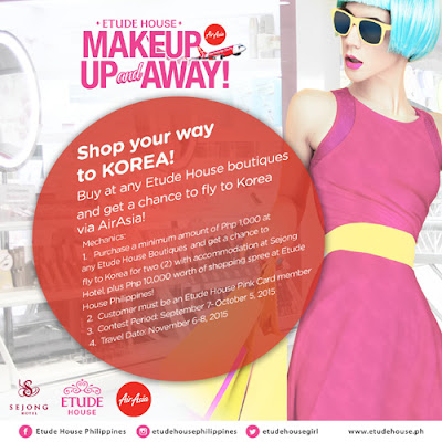 Etude House x Air Asia Make Up and Away Promo