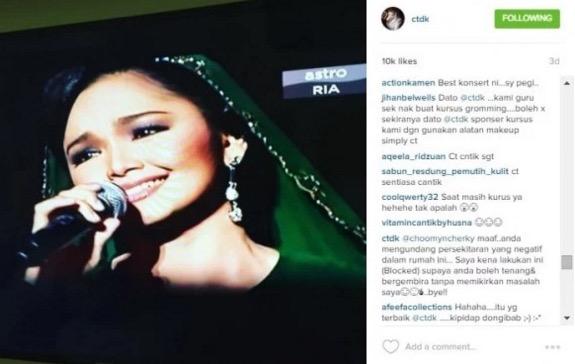 Didakwa attention seeker dan perampas suami orang, lihat respon Siti Nurhaliza