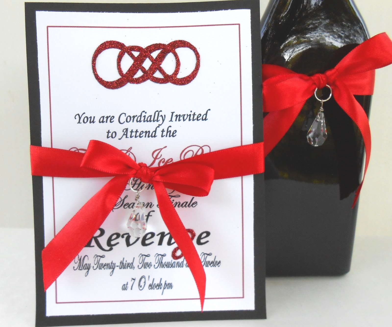 Distracted by Something Shiny: Invitations and Decorations with a ...