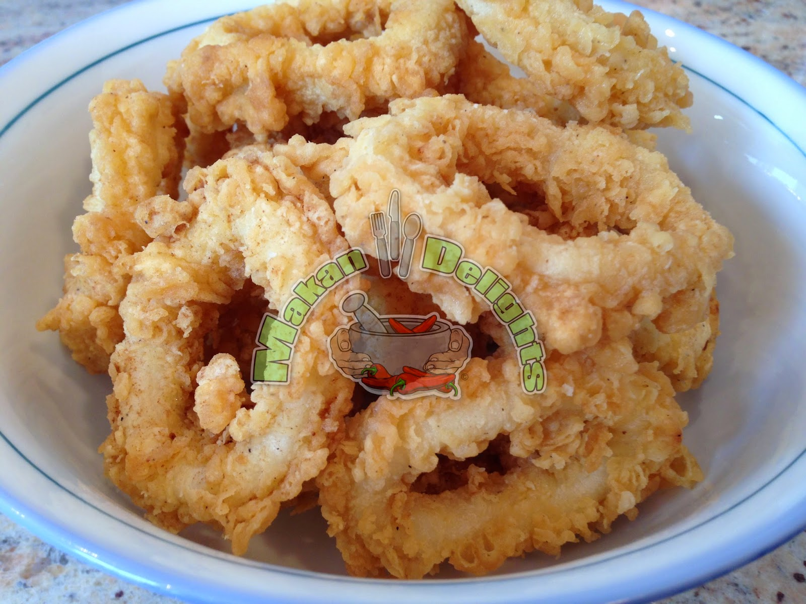 Makan Delights: Crispy Squid (Calamari) Rings