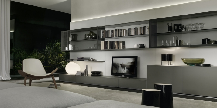 Muebles modulares para salas modernas ideas para decorar for Muebles diseno living