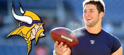 Tim Tebow to become a Viking?
