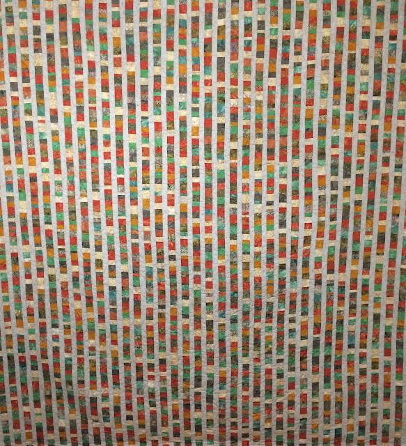 Patty Foret's Multi-Color Stripes Quilt