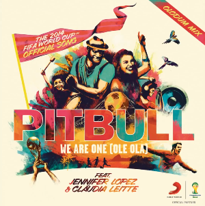 VIDEOCLIP NOU Pitbull We Are One Ole Ola featuring Jennifer Lopez Claudia Leitte The Official 2014 FIFA World Cup Song hit ultima melodie fotbal Brazilia