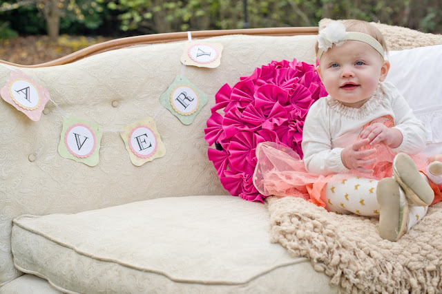Girl's First Birthday Photoshoot