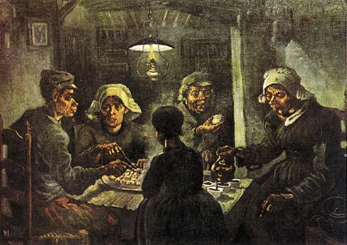 Via dell 39 universit i mangiatori di patate van gogh - Chi ha dipinto il bagno turco ...