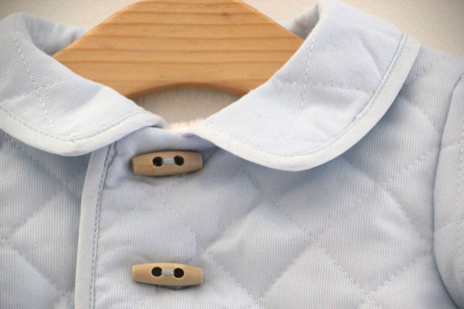 DIY Tutorial: Abrigo de bebé acolchado (patrones gratis)     Oh ...
