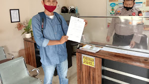 Ketua FPII Lampung Utara Laporkan Akun FB Yang Hina Wartawan