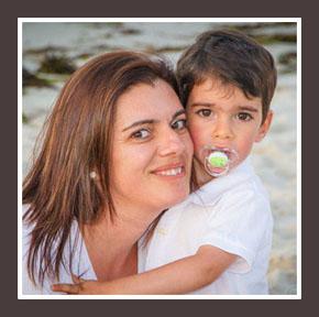 Mateo y mamá