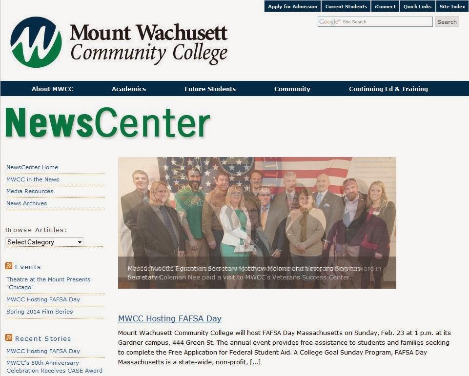 MWCC News Center