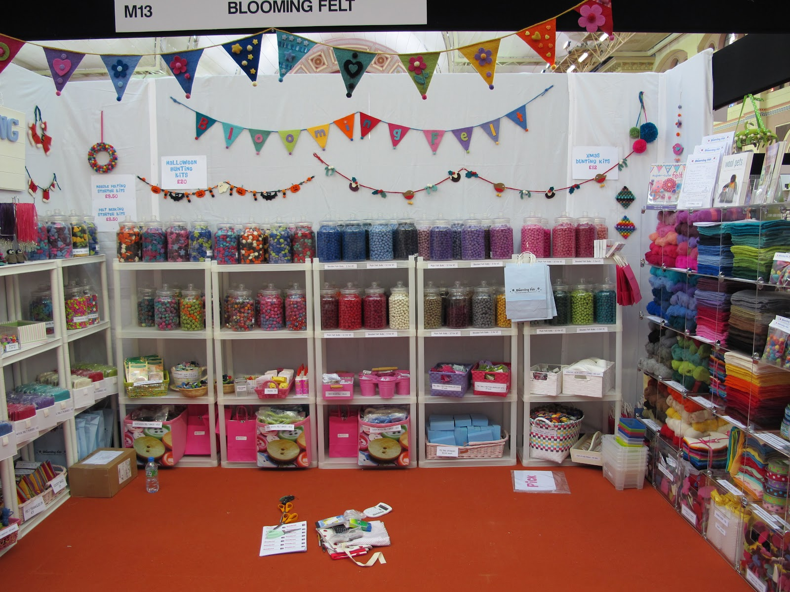Blooming Felt - News from Shedquarters: Knitting & Stitching Show