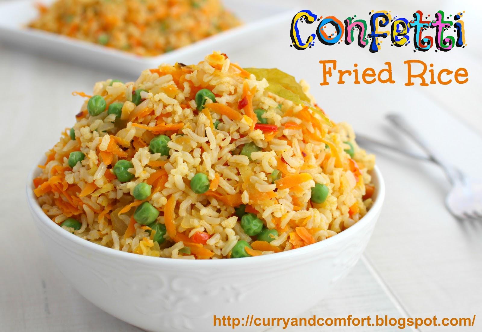 Confetti Fried Rice (Vegetarian)