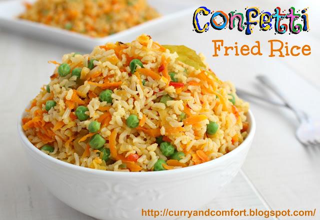 Kitchen Simmer: Confetti Fried Rice (Vegetarian)