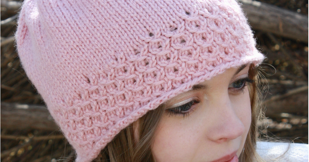 Knit Hat Patterns Free Ladies : Little Miss Stitcher: Serendipity Knit Hat Free Pattern