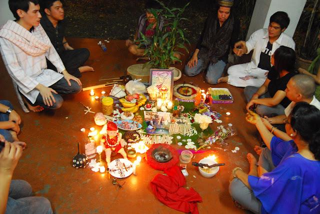 Samhain altar