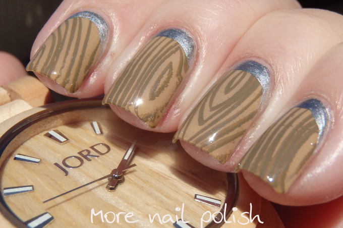 Jord wood watch inspired nail art with giveaway more nail polish jord wood watch inspired nail art with giveaway prinsesfo Image collections